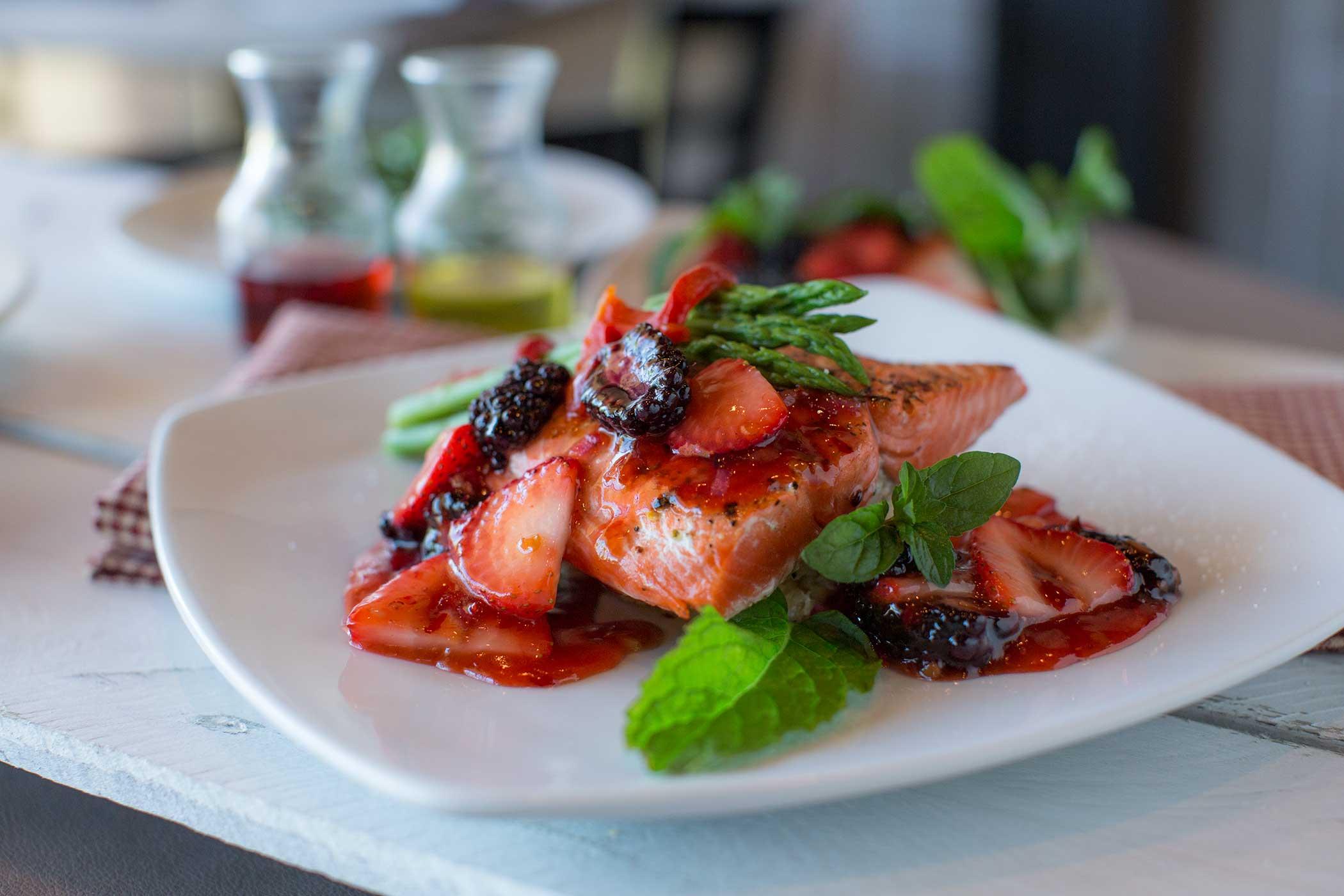 Salmon-Strawberry-Chutney